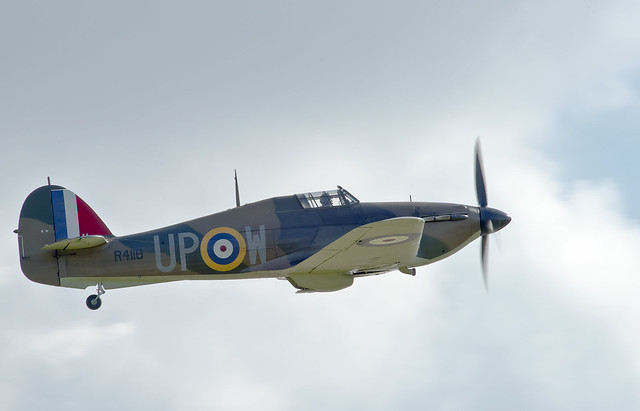Hawker Hurricane R4118 Scramble