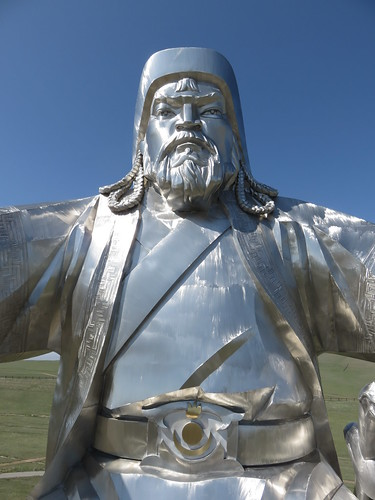 royal torso with mongolian symbol on belt   by SJ Rozan