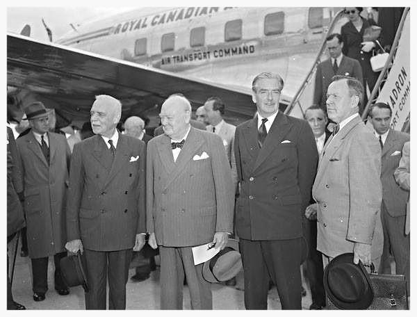 094e26bc14eeb ... Visit of Winston Churchill to Ottawa 1954