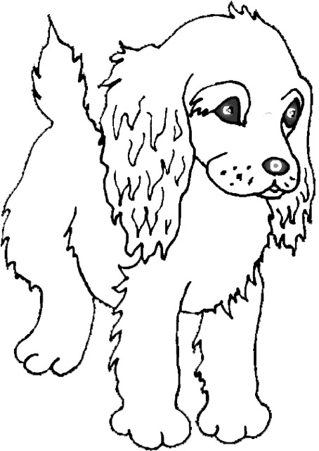 Dog coloring page | Free Printable Coloring Pages | 640x454