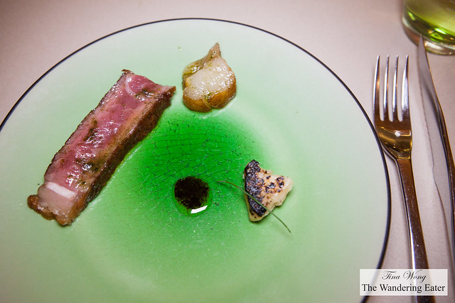 Aged beef, celery root, vincotto