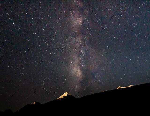 Milky Way at Chandra Tal