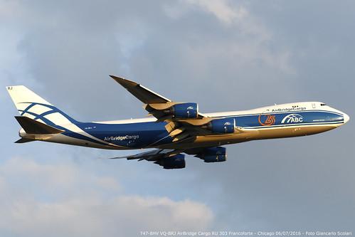 VQ-BRJ 747-8HV RU 303 FRA-ORD | by Giancarlo Scolari