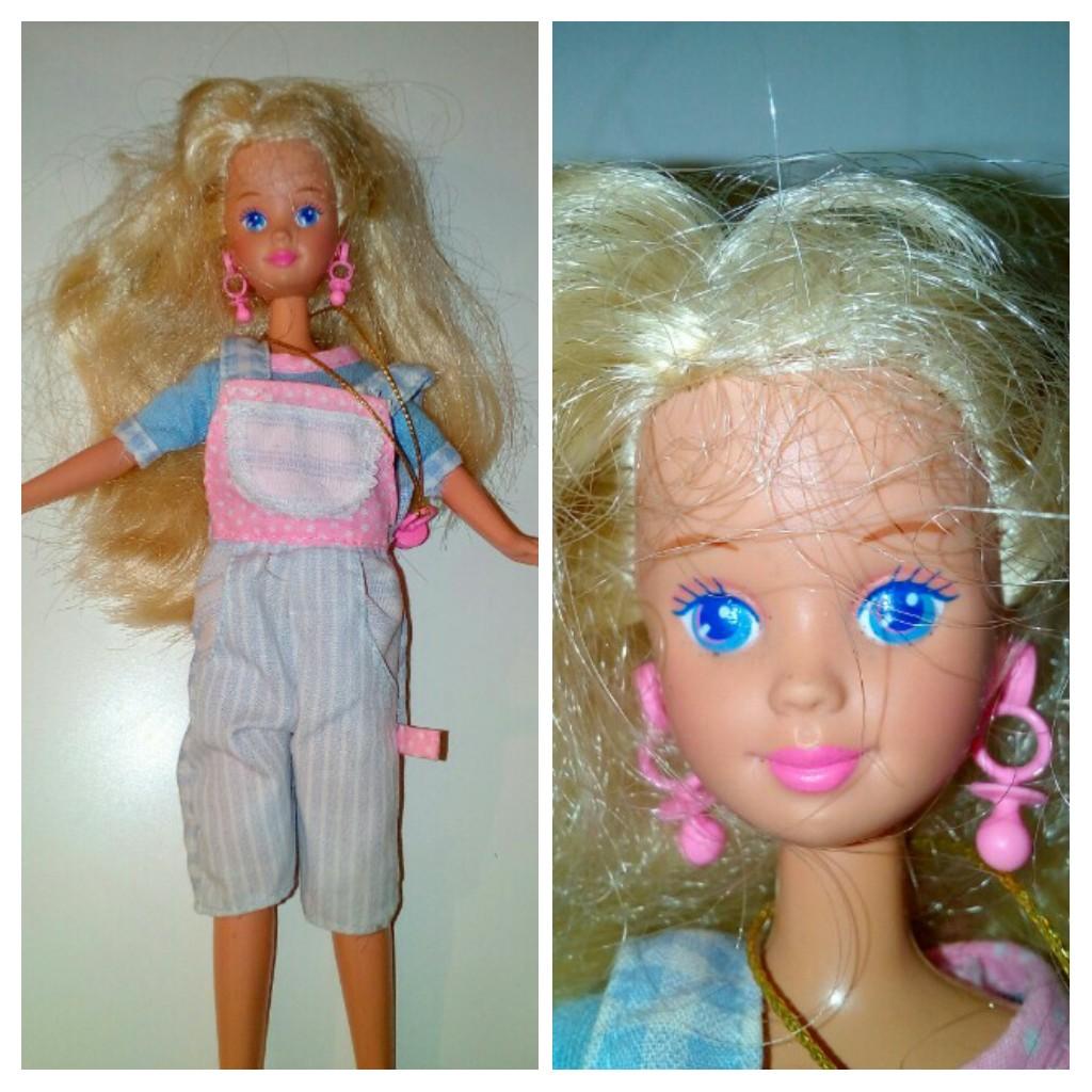Mattel G8856 2005 Kelly Barbie Holiday Party KERSTIE Doll Tree Ornament