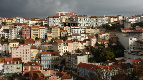 portugal coimbra town city maxtuguese sony outdoor landscape cityscape houses colors view architecture buildings