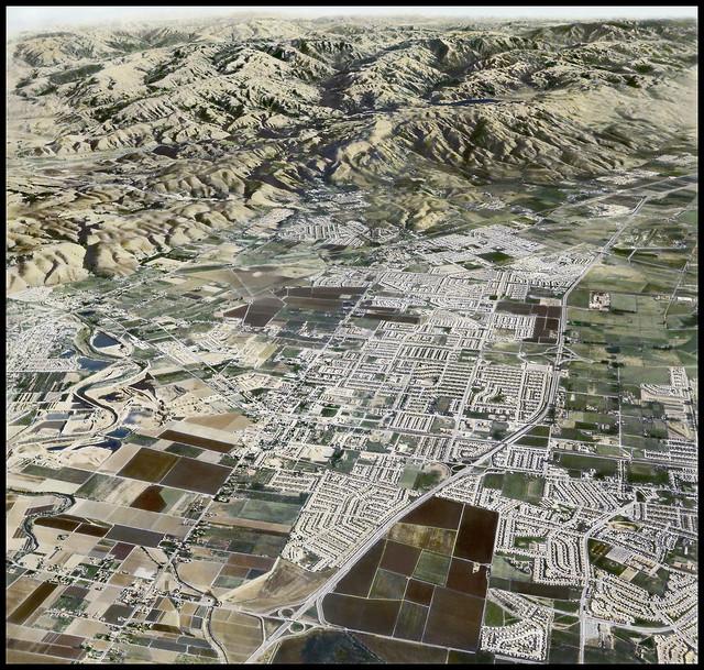 Aerial View of Washington Township 1960