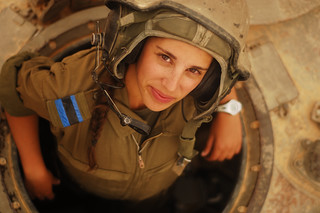 Tank Instructor Says Hi | by Israel Defense Forces