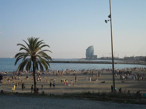 Beaches in Barcelona