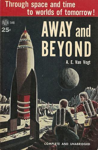 A.E. Van Vogt - Away and Beyond (Avon 1953)
