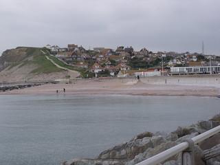 West Bay - West Pier - Jurassic Pier - West Cliff | by ell brown