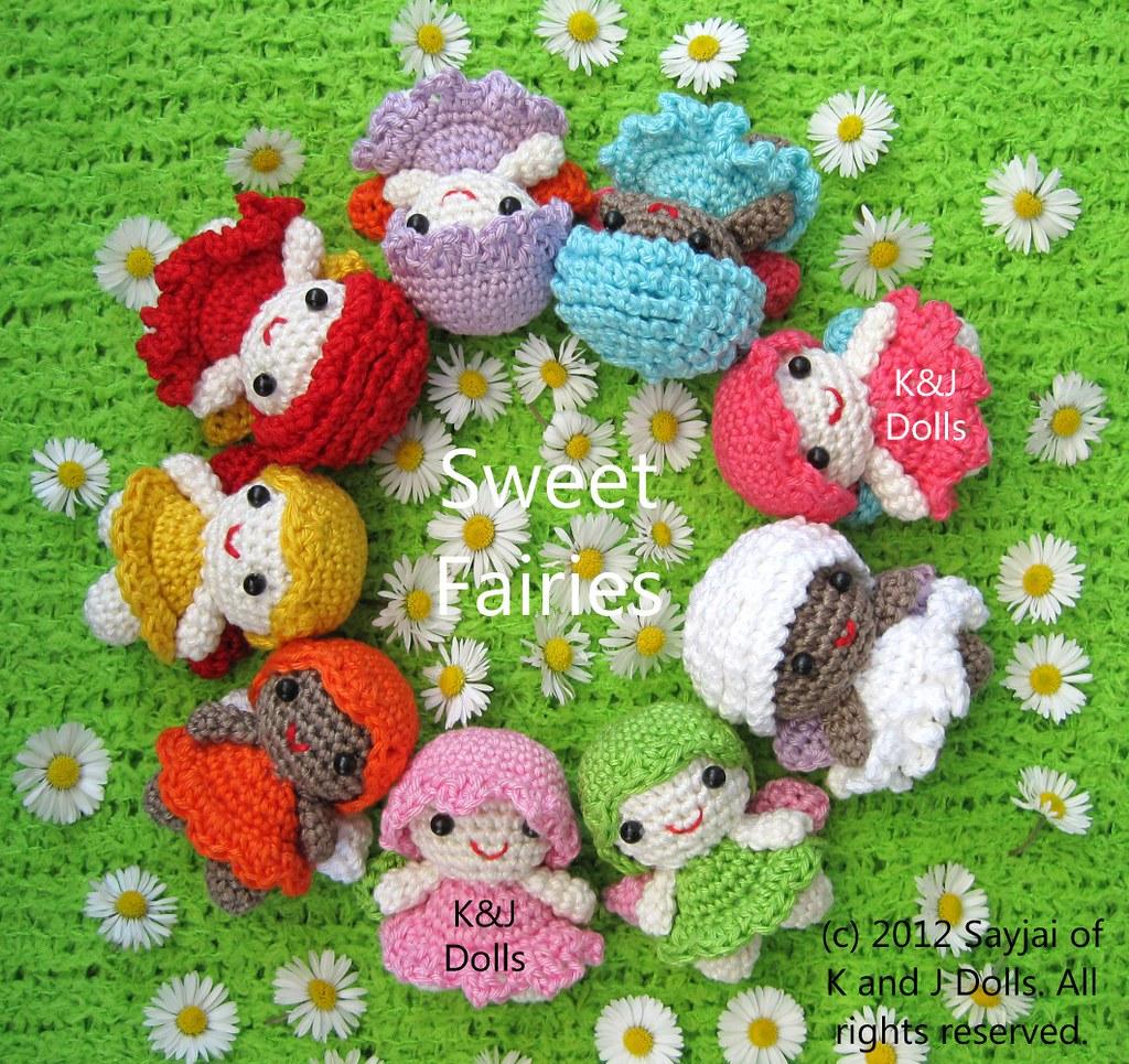 Amazon.com: Doll amigurumi: Fairy doll Pattern, doll crochet eBook ... | 965x1024