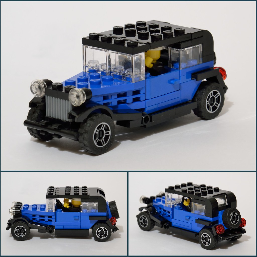 Auto Depoca Antique Car Lego Amaryl Flickr