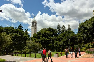 Scenes from UC Berkeley - Crosswalk   by John-Morgan