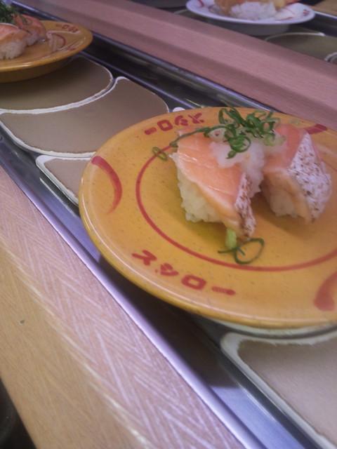 回転寿司 (Kaiten-Sushi)Salmon