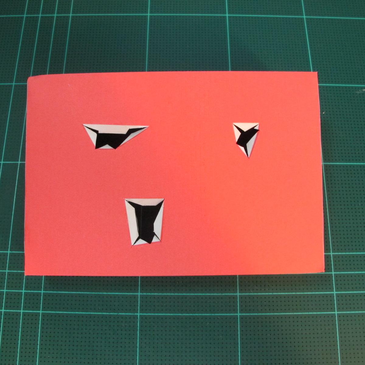 วิธีทำโมเดลกระดาษตุ้กตาคุกกี้รัน คุกกี้รสฮีโร่ (LINE Cookie Run Hero Cookie Papercraft Model) 028