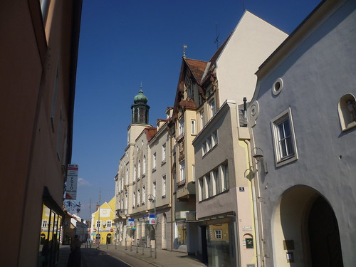 Neunkirchen, Bassa Austria (l'arte delle facciate di Neunk ...