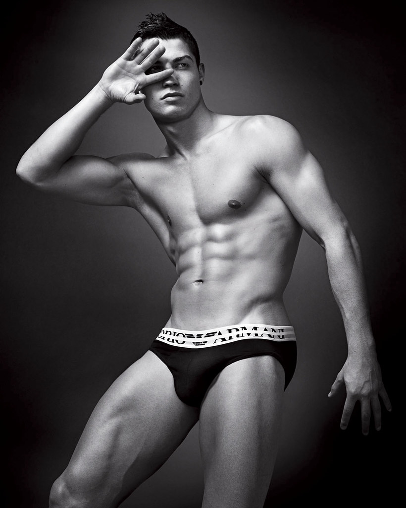 Fashion And The City: Cristiano Ronaldo Poses Half-Naked