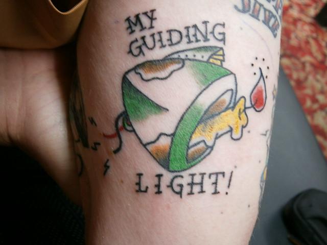 guiding light tattoo