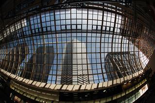 Houston Mall Mesh Buildings