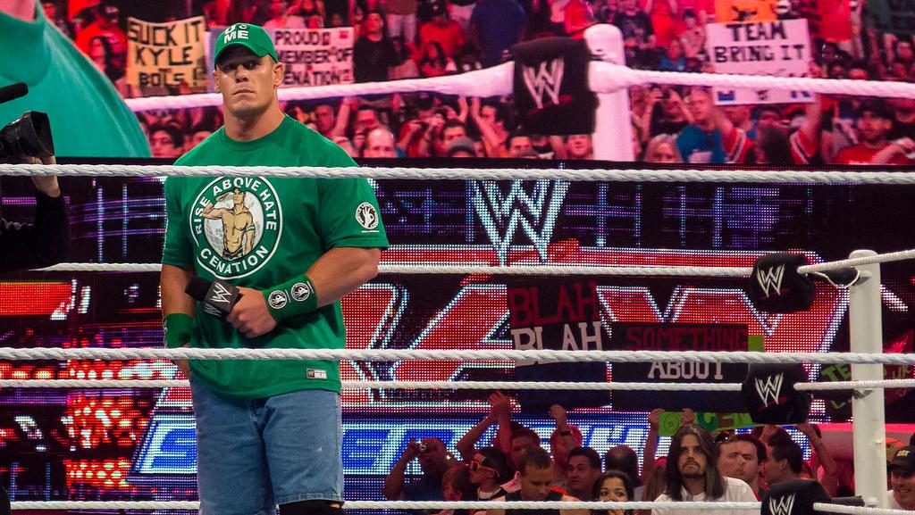 John Cena at Raw, Miami, 2 April 2012 | Ed Webster | Flickr