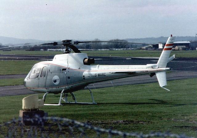 G-MARC Staverton 14 March 1990