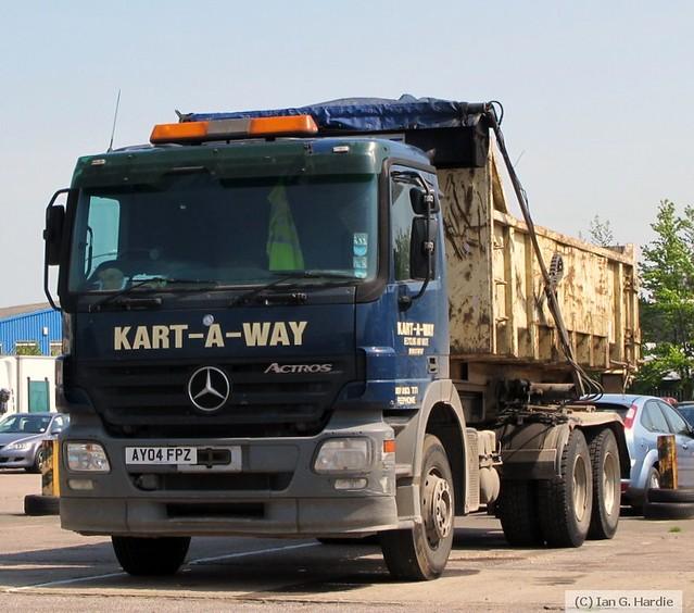 AY04FPZ Mercedes-Benz Actros 2636 3x2 Rollonoff