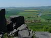 Hazmburk – výhled na Klapý, foto: Petr Nejedlý