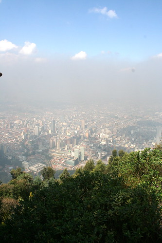 Bogota from the Mountain | by rachaelvoorhees