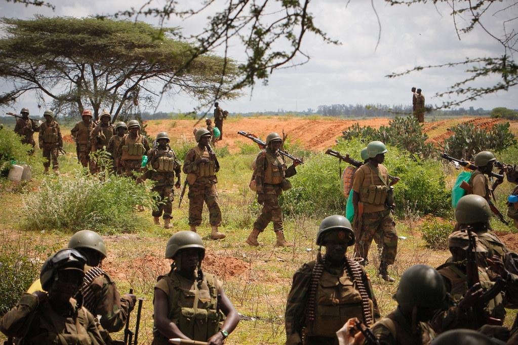 AMISOM & Somali National Army operation to capture Afgoye Corridor Day #4 01
