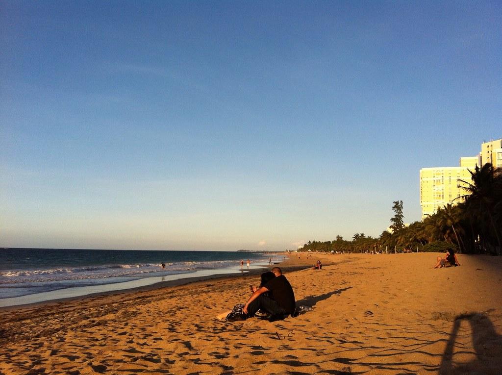 Condado/Ocean Park at Sunset, San Juan, PR