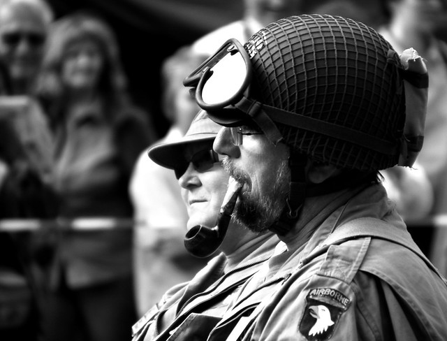 Pipe Smoking Soldier