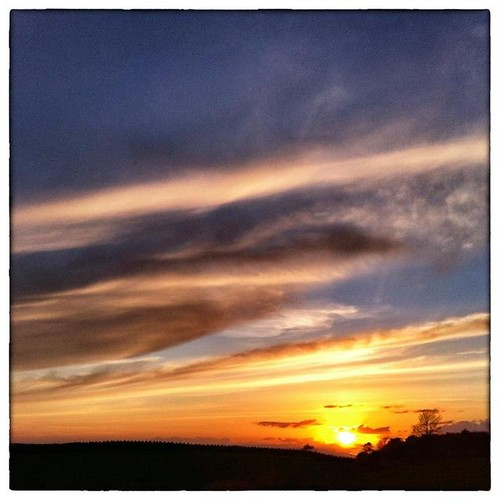 cameraphone ireland sunset sky sun galway silhouette rural landscape lowlight iphone4