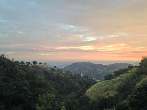 sunset newcastle bluemountains jamaica saintandrew mountedge eitscafe