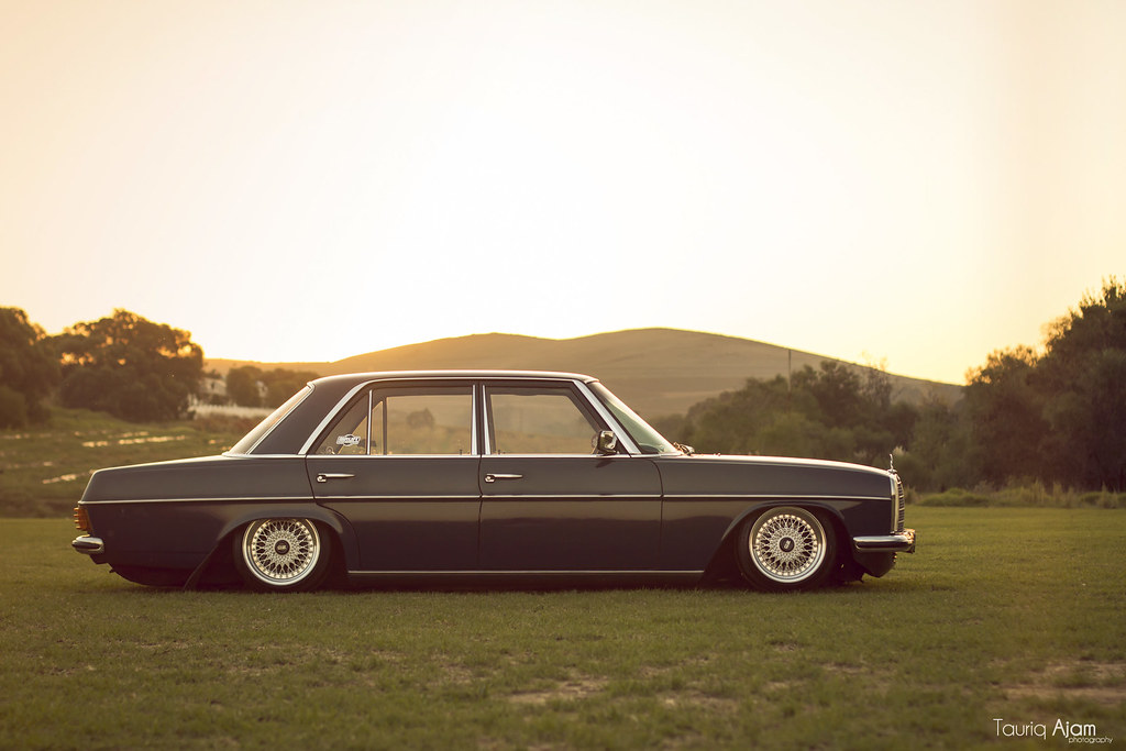 Mila_Mercedes_Benz_W115_Bagged_10 | Bagged Benz chilling in