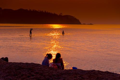 summer beach seashore okinawa nago seascape sea evening japan koukibeach 名護市 沖縄県 日本 jp