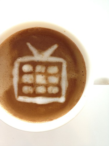 Today's latte, Google TV. | by yukop