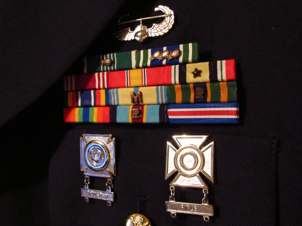 My Rack | Air Assault Badge From top left, Army Commendation