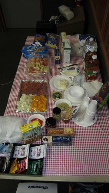IMG_2142 SBAU meeting snacks provided