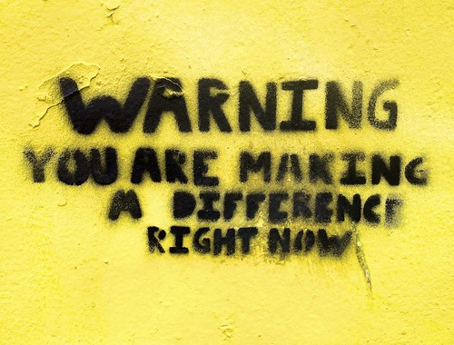 Norwich Street Art: Warning   by @markheybo