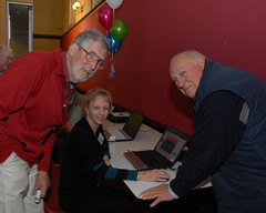 Geoff Gordon, Anne Richards & Peter Whimpress at Wiki Launch May 27 2012