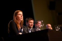 Simone Halink (Bits of Freedom) bij het Nationaal Privacy Debat