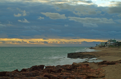 light sunset sun sunlight beach night dawn surf florida cloudy stuart hutchinsonisland