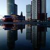 Kop van Zuid, Rotterdam #puddle #reflection #latergram