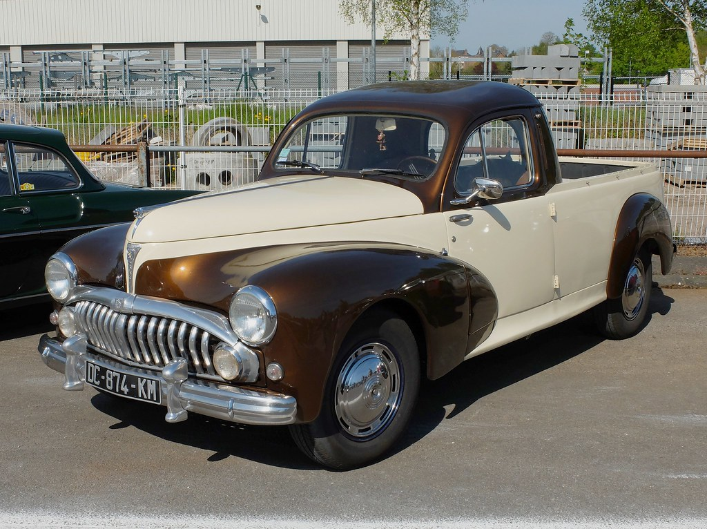 Peugeot 203 Pick Up Transformation Xavnco2 Flickr