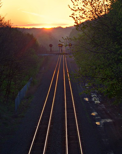 trip railroad morning mist reflection sunrise point landscape pentax pennsylvania tracks tokina pa manual vanishing 70200 kx szx