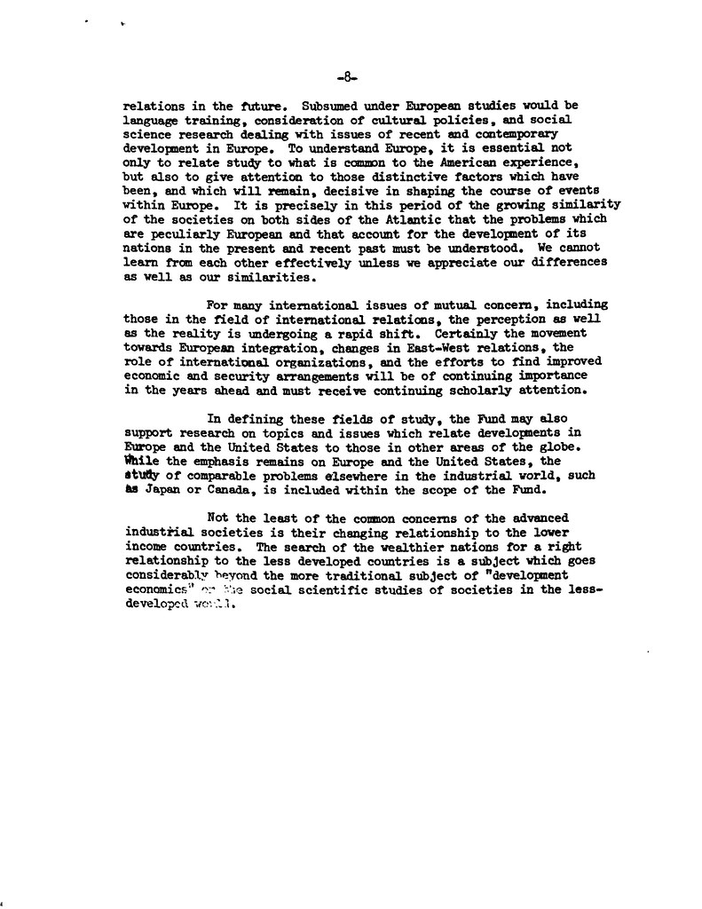 GMF Founding Statement of Purpose (1972) page 3 | German Marshall