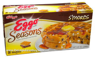 Kellogg's Limited Edition Eggo Seasons S'mores Waffles | by theimpulsivebuy