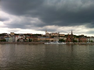 Buda from the Danube Promenade
