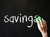 Savings being wiped Out