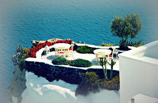 Colors of Greece - Oia balcony | by philos from Athens